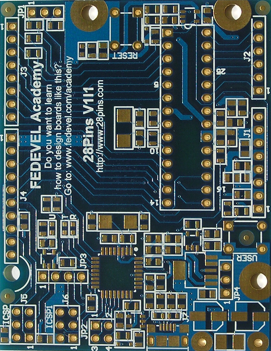 28Pins - PCB Top