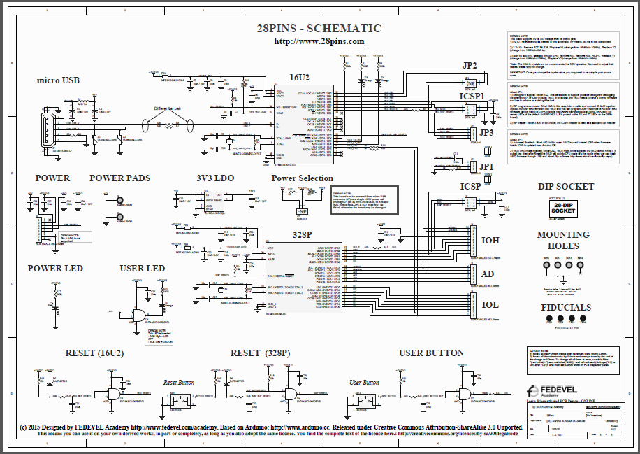 28Pins Schematic 20150403 BW